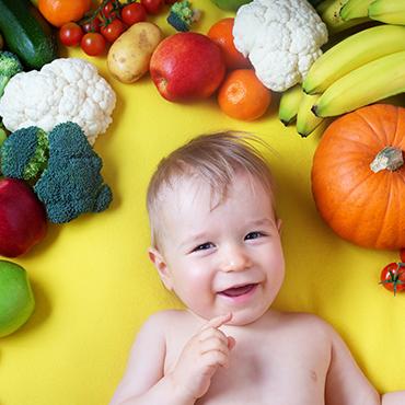 ลูกน้อยสุขภาพดีด้วยอาหารหลากสี
