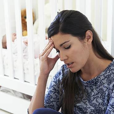 ภาวะซึมเศร้าที่เกิดจากอาการนอนไม่หลับ ของคุณแม่หลังคลอด