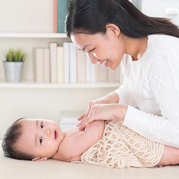 ผดผื่นที่มากับเด็กทารก ต้องดูแลยังไง