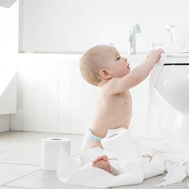 ควรฝึกลูกให้เข้าห้องน้ำตั้งแต่ตอนไหน